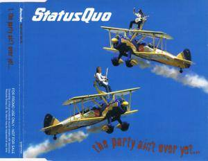 Status Quo: The Party Ain't Over Yet... (Promo-Single-CD) - Bild 2