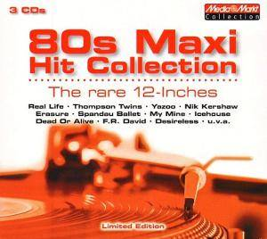 Cover - Real Life: 80s Maxi Hit Collection - The Rare 12-Inches