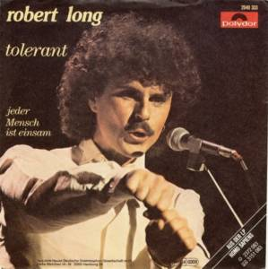 Robert Long: Tolerant - Cover