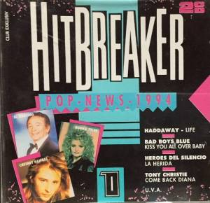 Cover - Bernie Lyon: Hitbreaker - Pop News 1/94