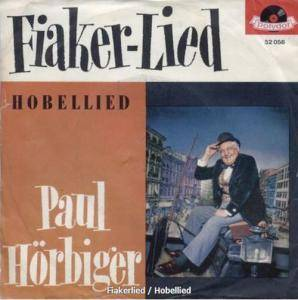 Cover - Paul Hörbiger: Fiaker-Lied