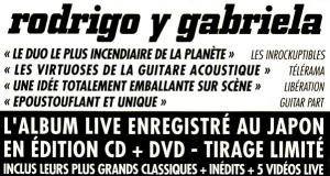 Rodrigo Y Gabriela: Live In Japan (CD + DVD) - Bild 2
