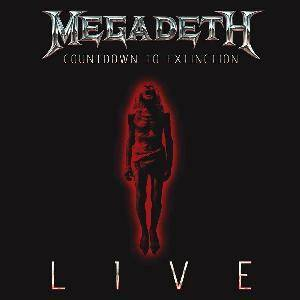 Megadeth: Countdown To Extinction Live - Cover