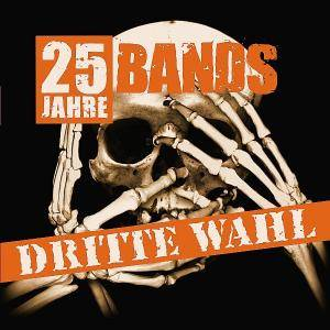 Cover - Crushing Caspars: Dritte Wahl - 25 Jahre 25 Bands