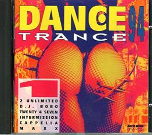 Cover - Co.Ro. Feat. Taleesa: Dance Trance 94 Vol. 1
