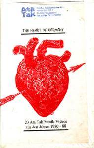 Heart Of Germany - 20 Ata Tak Videos Aus Den Jahren 1980 - 88, The - Cover