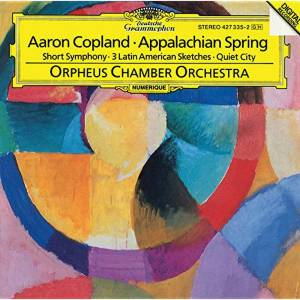 Cover - Aaron Copland: Appalachian Spring