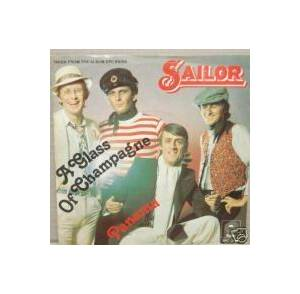 Sailor: Glass Of Champagne, A - Cover