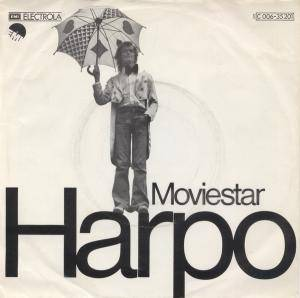 Harpo: Moviestar - Cover