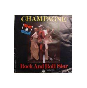 Cover - Champagne: Rock And Roll Star