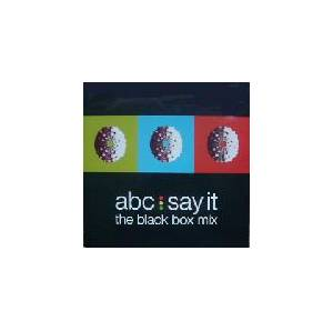 ABC: Say It - Cover
