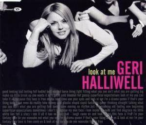 Cover - Geri Halliwell: Look At Me