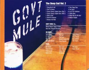 Gov't Mule: The Deep End Vol. 1 & Vol. 2 (3-CD) - Bild 9