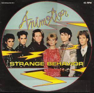 Animotion: Strange Behavior - Cover