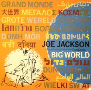 Joe Jackson: Big World - Cover