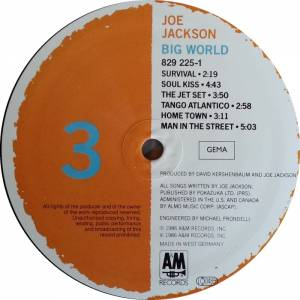 Joe Jackson: Big World (2-LP) - Bild 5