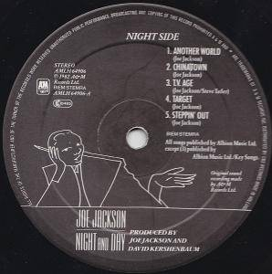 Joe Jackson: Night And Day (LP) - Bild 2