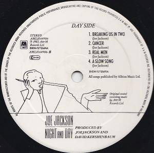 Joe Jackson: Night And Day (LP) - Bild 3