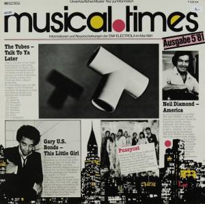 Cover - Claudio Damiani: Musical Times 5/81