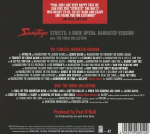 Savatage: Streets: A Rock Opera. Narrated Version (CD + DVD) - Bild 2