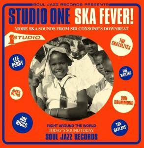 Cover - Soul Brothers, The: Studio One Ska Fever!