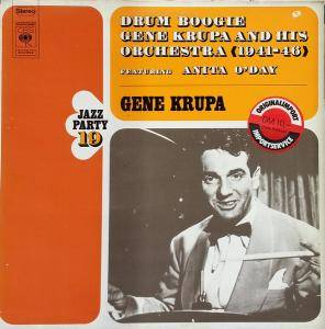 Cover - Gene Krupa & His Orchestra: Drum Boogie (CBS)