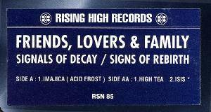 Cover - Friends, Lovers & Family: Signals Of Decay / Signs Of Rebirth