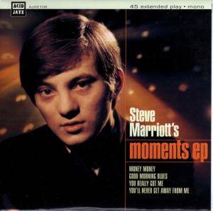 Cover - Steve Marriott: Moments EP