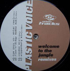 Cover - Plastic Voice: Welcome To The Jungle (Remixes)