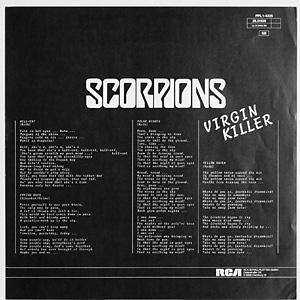 Scorpions: Virgin Killer (LP) - Bild 4