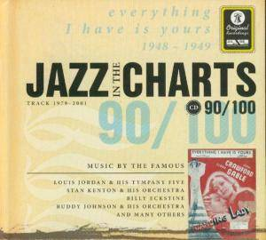 Cover - Blue Lu Barker: Jazz In The Charts 90/100