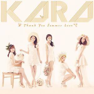 Kara: Thank You Summer Love - Cover