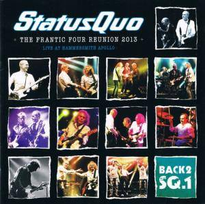 Status Quo: The Frantic Four Reunion 2013 - Cover