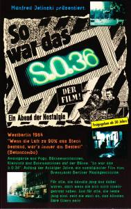 So War Das S.O.36 - Cover