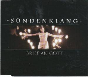 Sündenklang: Brief An Gott - Cover