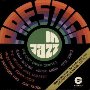 Prestige In Jazz - Cover