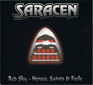 Cover - Saracen: Red Sky - Heroes, Saints & Fools
