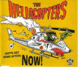 The Hellacopters: (Gotta Get Some Action) Now! - Cover