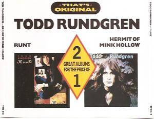 Cover - Todd Rundgren: Runt / Hermit Of Mink Hollow