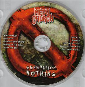 Metal Church: Generation Nothing (CD) - Bild 3