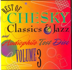 Cover - Ana Caram: Best Of Chesky Classics & Jazz And Audiophile Test Disc Vol. 3