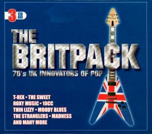 Britpack - 70's UK Innovators Of Pop, The - Cover