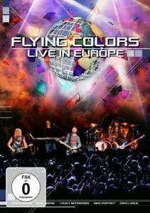 Flying Colors: Live In Europe - Cover