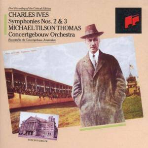 Cover - Charles Ives: Symphonies Nos. 2 & 3