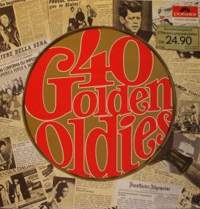 40 Golden Oldies - Cover