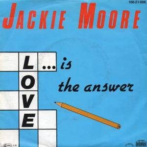 Cover - Jackie Moore: Love Is The Answer