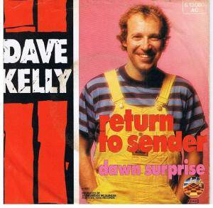 Cover - Dave Kelly: Return To Sender