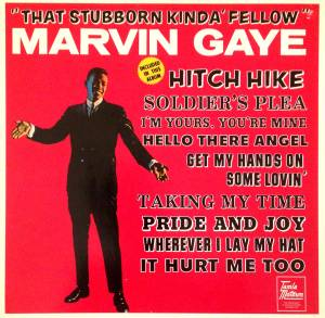 Cover - Marvin Gaye: That Stubborn Kinda' Fellow