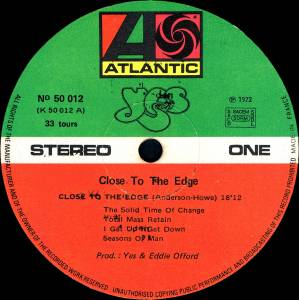 Yes: Close To The Edge (LP) - Bild 4