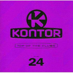 Kontor - Top Of The Clubs Vol. 24 - Cover